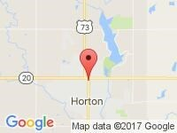 Map of Autos-4-U at 1426 1st Ave. East, Horton, KS 66439
