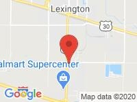 Map of Lexington at 1900 Plum Creek Pkwy, Lexington, NE 68850