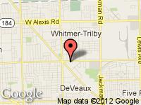 Map of GO Auto Sales at 2319 W. Laskey Rd, Toledo, OH 43613