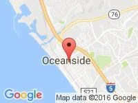 Map of ACTION AUTO CENTERS at 102 S. Coast Highway, Oceanside, CA 92054-3018