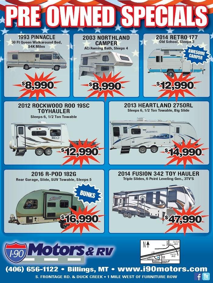 I90 Motors Rv Our Print Ads