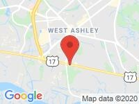 Map of Luxury Cars of Charleston at 1739 Savannah Highway, Charleston, SC 29407