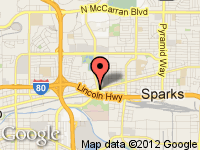 Map of Diamond Motors Quality Used Cars at 2233 Prater Way, Sparks, NV 89431