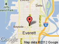 Map of 2332 Broadway at 2332 Broadway, Everett, WA 98201