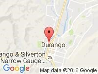 Map of Precision Imports, Inc. at 1025 Camino del Rio, Durango, CO 81301