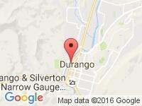 Map of Precision Imports, Inc. at 1025 Camino del Rio, Durango, CO 81301