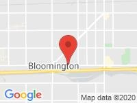 Map of D & A  Auto Sales at 19060 Valley Blvd., Bloomington, CA 92316