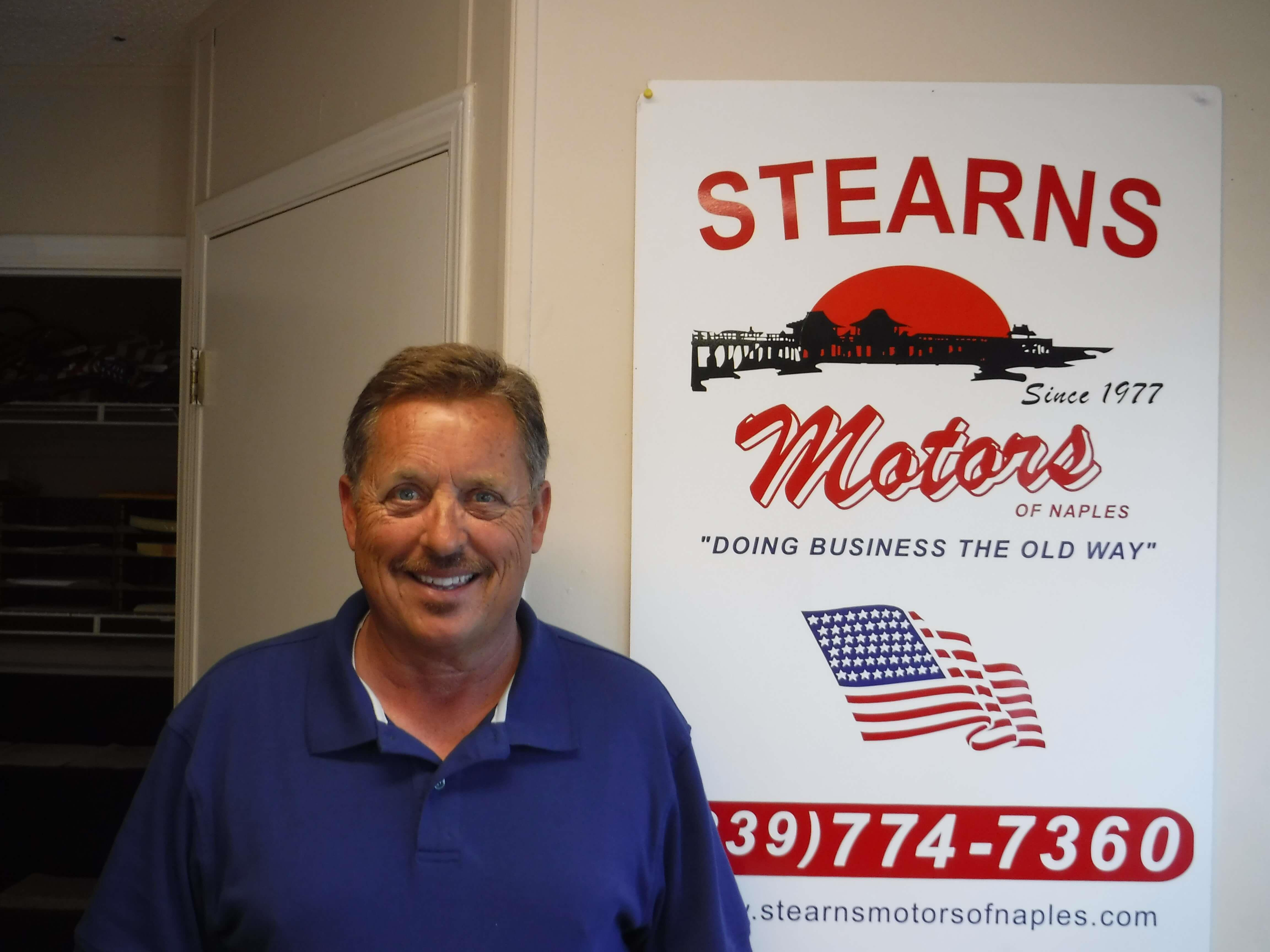 Stearns motors of naples meet the staff for Stearns motors naples florida