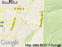 Map of Bountiful, Utah at Specialties Automotive Group, LLC, Bountiful, UT 84010