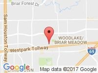 Map of Motors On Wheels at 3909 Waldo Str, Houston, TX 77063