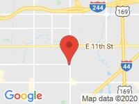 Map of Sports & Imports, Inc. at 7944 E 15TH ST, Tulsa, OK 74112