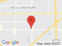 Map of Azteka Motors, Inc. at 7939 East 21st Street, Tulsa, OK 74129