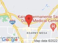 Map of West Coast Auto Finance at 6270 Miramar Rd, San Diego, CA 92121