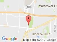 Map of ProSelect Autos at 3229 ALTA MERE DRIVE, Fort Worth, TX 76116