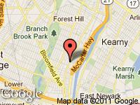 Map of Brick City Motors at 346 Broadway, Newark, NJ 07104