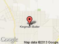 Map of Kingman at 2480 Northern Ave., Kingman, AZ 86409