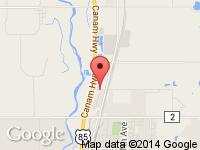 Map of Brighton Store at 12555 County Road 2 1/2, Brighton, CO 80603