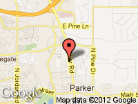 Map of Parker Store at 11543 N. Hwy 83, Parker, CO 80134