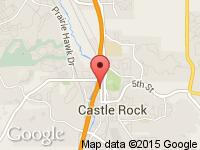 Map of Castle Rock Stores at 729 Wilcox Street, Castle Rock, CO 80104