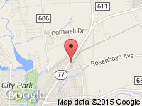 Map of Dave & Mike's Used Cars Inc at 725 N Pearl St, Bridgeton, NJ 08302