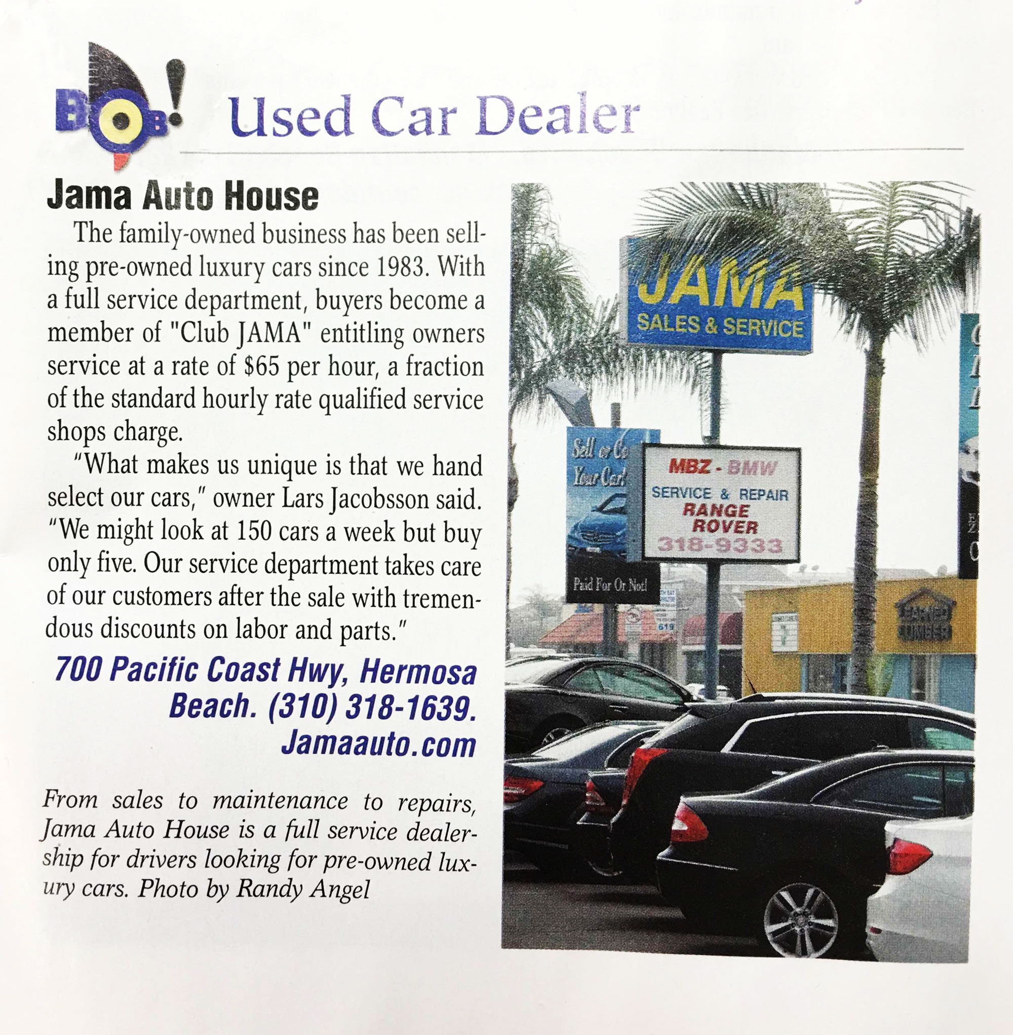 Jama Used Cars Hermosa Beach