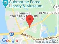 Map of Shantok Motors Groton at 345 Gold Star Hwy, Groton, CT 06340