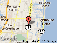 Map of Sheehan PreOwned Cars at 2861 North Federal Highway, Lighthouse Point, FL 33064