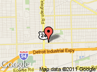 Map of Erwines Auto Sales at 23706 Van Born, Dearborn Heights, MI 48125