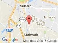 Map of Mahwah at 161 Franklin Turnpike, Mahwah, NJ 07430
