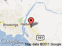 Map of Kemp Auto Sales at 16365 Hwy 101 S., Brookings, OR 97415