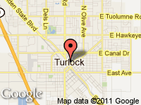 Map of Scott Davis Auto Sales Inc. at 201 N Center Street, Turlock, CA 95380