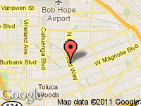 Map of Empower Group, Inc. at 1200 N. Hollywood Way,, Burbank, CA 91505