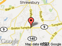 Map of Fiore's Auto and Truck at 882 Boston Turnpike, Shrewsbury, MA 01545