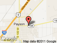 Map of Robert Marsh Car & Truck Sales, LC at 725 East 100 North, Payson, UT 84651