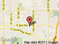 Map of Luxury Motorsports Bell at 2141 E Bell Rd, Phoenix, AZ 85022