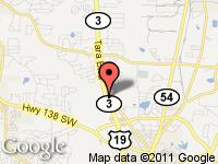 Map of Cars and Credit Assistance at 7710 Tara Blvd, Jonesboro, GA 30236