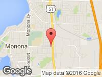 Map of A to Z Autosports at 1415 Pflaum Road, Madison, WI 53716