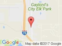 Map of Becroft Motor Sales, Inc at 2258 S Otsego Ave, Gaylord, MI 49734