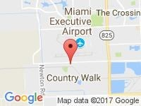 Map of Miami Auto Wholesale & Export at 5379 NW 7th St., Miami, FL 33126