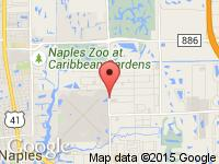 Map of Autohaus of Naples at 493 Airport-Pulling Rd. North, Naples, FL 34104