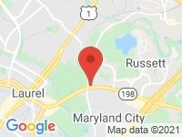 Map of Laurel Lot at 3520 Fort Meade Rd, Laurel, MD 20724
