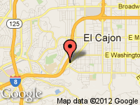 Map of Auto Proz at 920 El Cajon Blvd., El Cajon, CA 92020