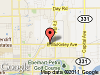 Map of CARS2YOU.COM at 1500 E McKinley Ave., Mishawaka, IN 46545