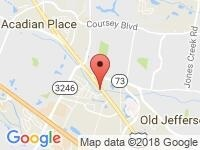 Map of Acadian Used Cars at 11917  Florida Blvd, Baton Rouge, LA 70815