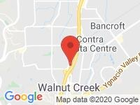 Map of B&X Motors at 1481 SOS Drive, Walnut Creek, CA 94597