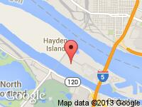 Map of M & M Investment Cars (DA2633) at 2774 N Hayden Island Dr, Portland, OR 97217