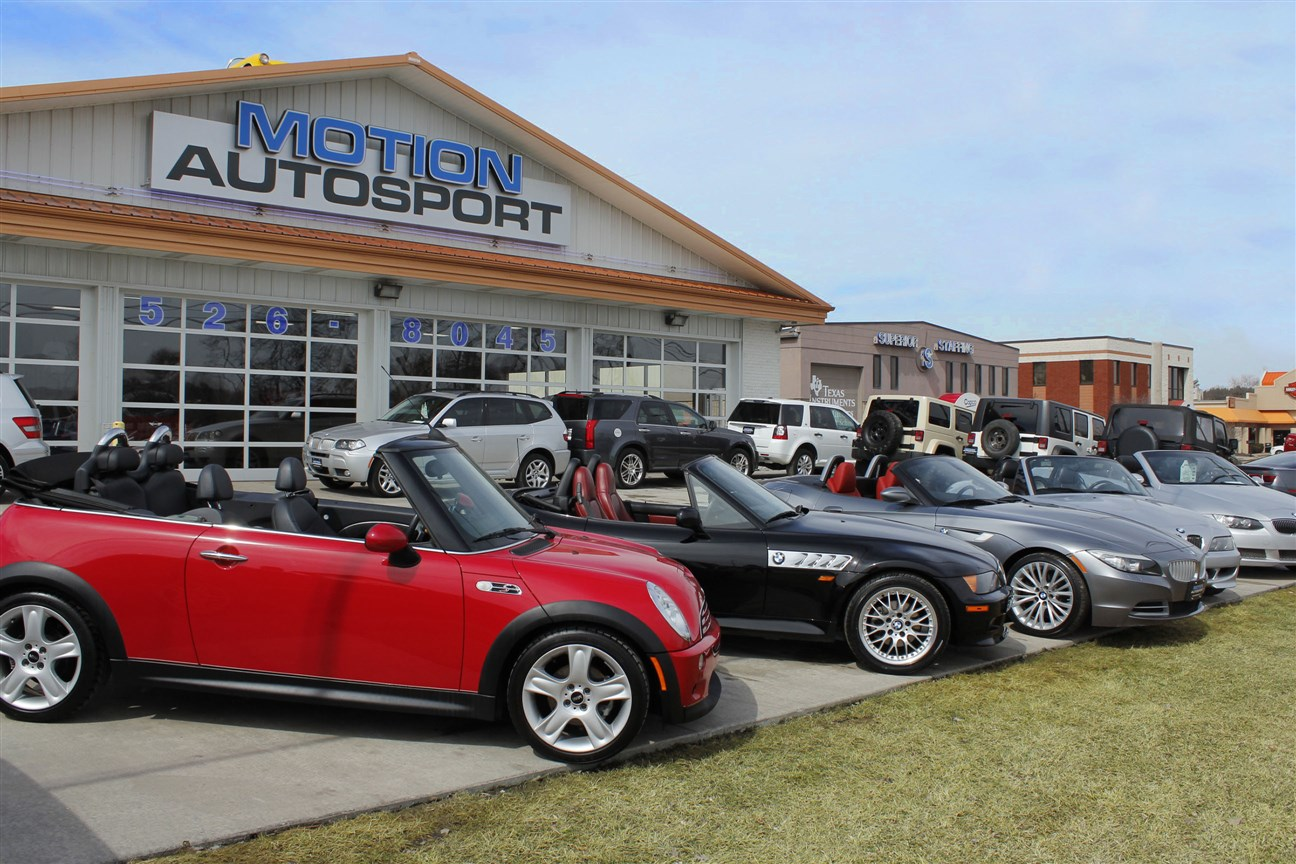 Motion autosport 7179 sunset strip n canton oh 44720 330 Freeway motors canton ohio
