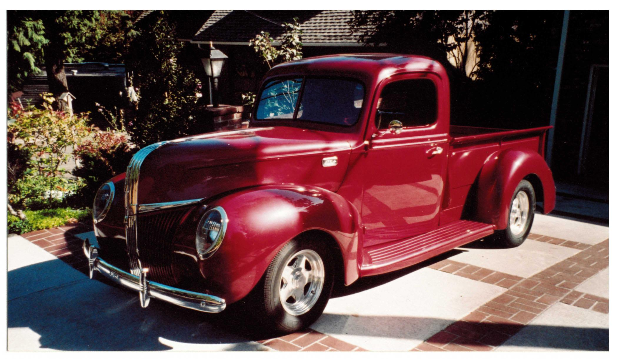 New box truck heartwood manufacturing - We Get A Lot Of Questions About The Old Truck In The Showroom This Is A 1941 Ford Pickup Truck That Was Built By Bob Buck Brian S Grandfather