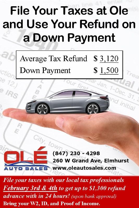 advanced tax refund