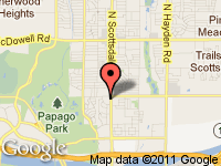 Map of Beemer Haus, LLC at 1900 N Scottsdale Rd, Tempe, AZ 85281